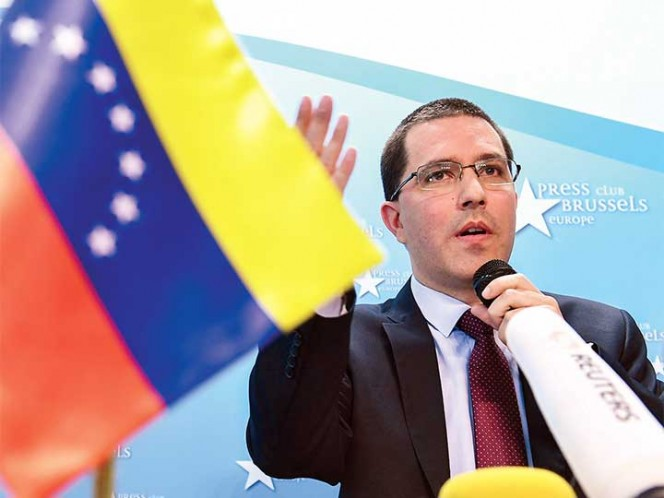 Jorge Arreaza: EEUU busca impedir comicios del 20M