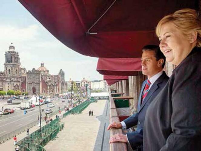 Peña Nieto da bienvenida a primera ministro de Noruega