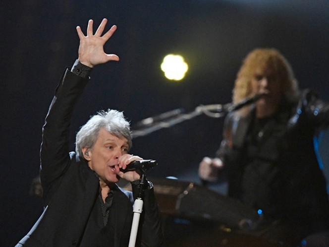 Bon Jovi llega al Salón de la Fama