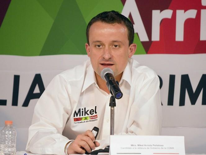 Mikel Arriola, listo para el debate electoral