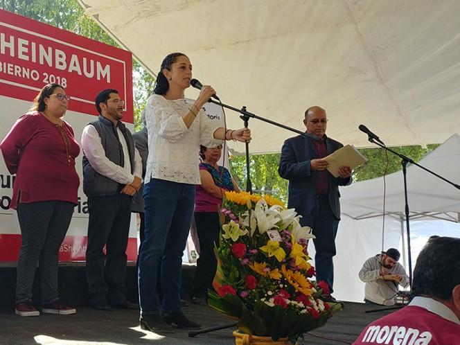 PRD promueve la violencia política: Sheinbaum