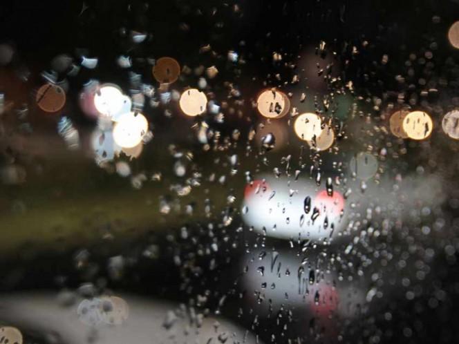 Prevén lluvia y granizo esta noche en 11 delegaciones