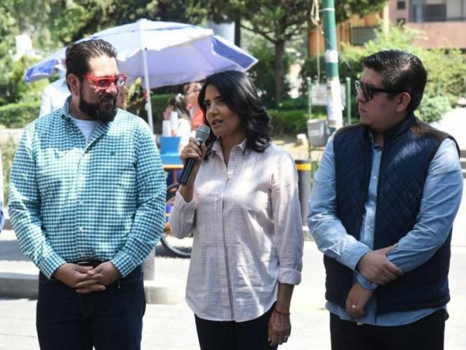 Alejandra Barrales expone ante alcaldes su visión de la Ciudad de México