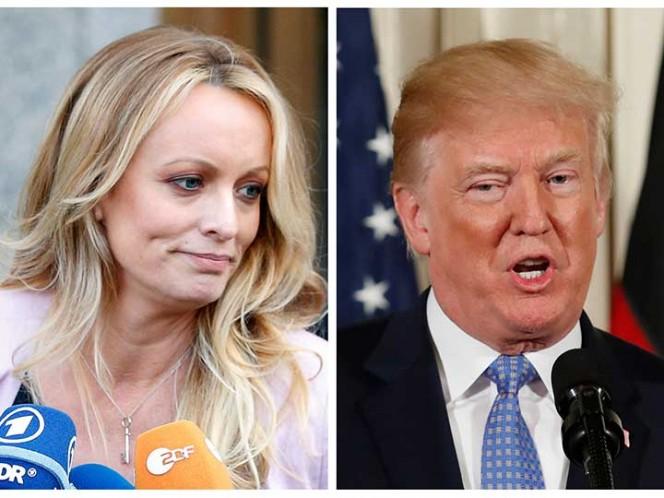 Actriz demanda a Trump por difamación