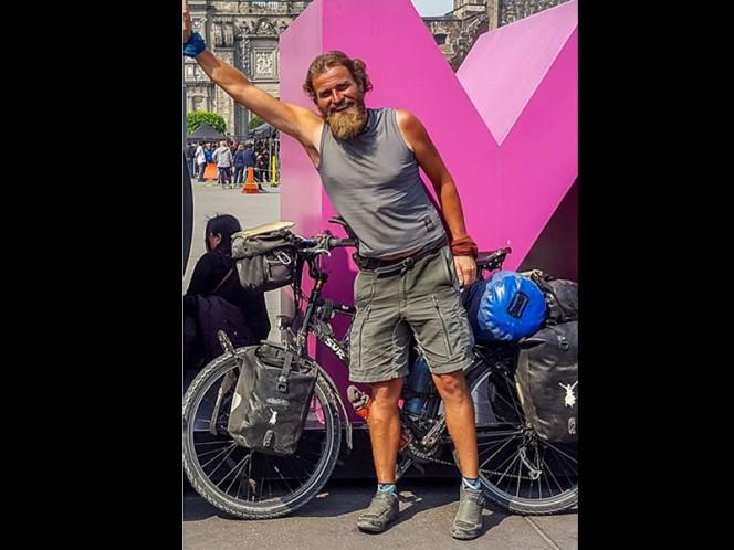 Desaparece ciclista alemán en Campeche