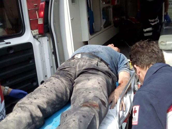 Explota tanque de gas en vivienda de Santa Maria la Ribera