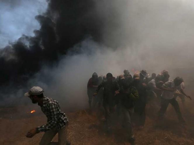 Palestina acusa a Israel de cometer masacre en Gaza