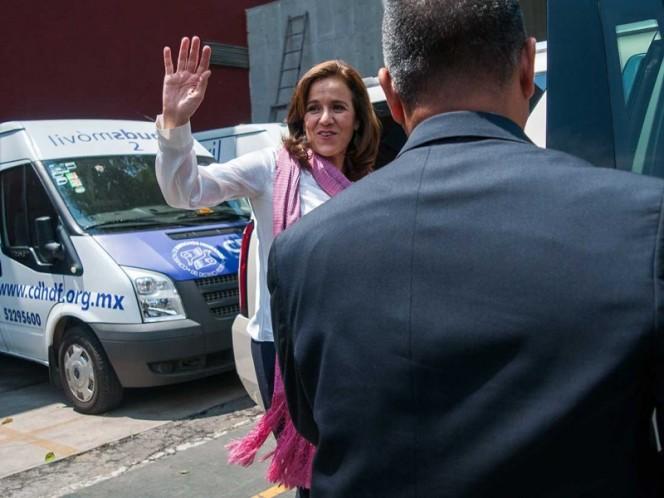 Margarita Zavala, Renuncia a candidatura presidencial, Elecciones 2018