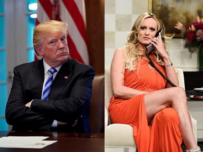 Informe confirma reembolso de Trump al abogado que pagó a Stormy Daniels