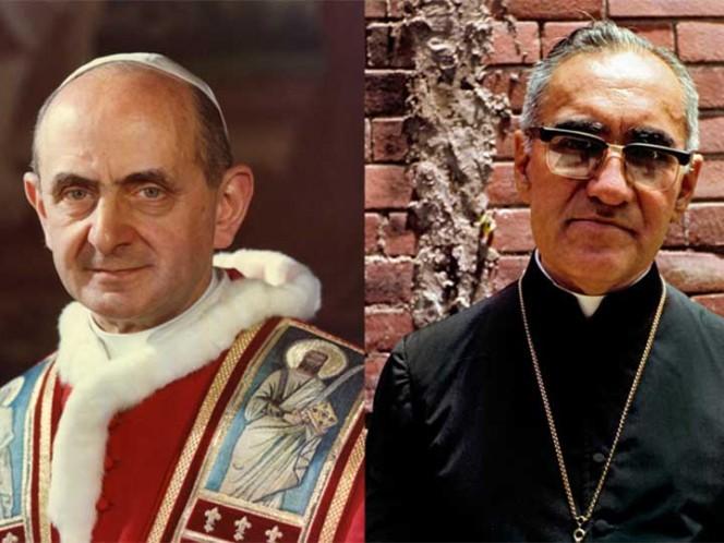Canonización de monseñor Romero y papa Pablo VI, el 14 de octubre