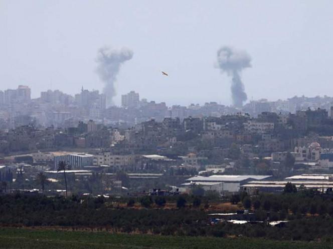 CERCANO ORIENTE - Israel bombardea objetivos de Hamas en Gaza
