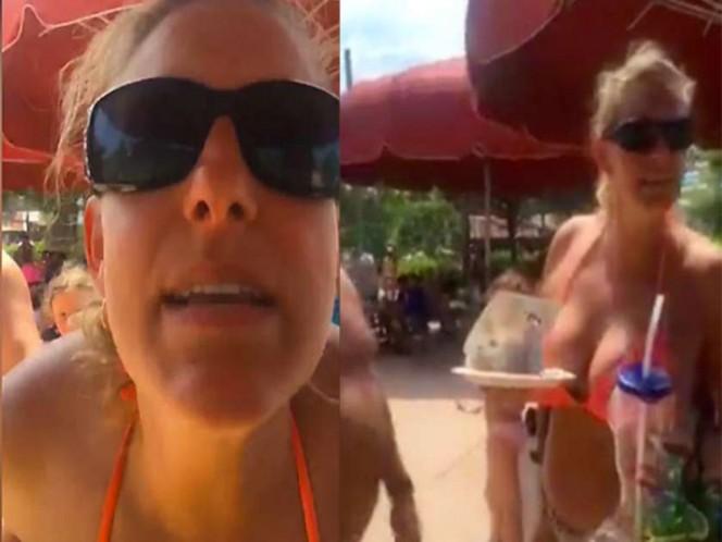 Disputa racista en Six Flags se hace viral en las redes