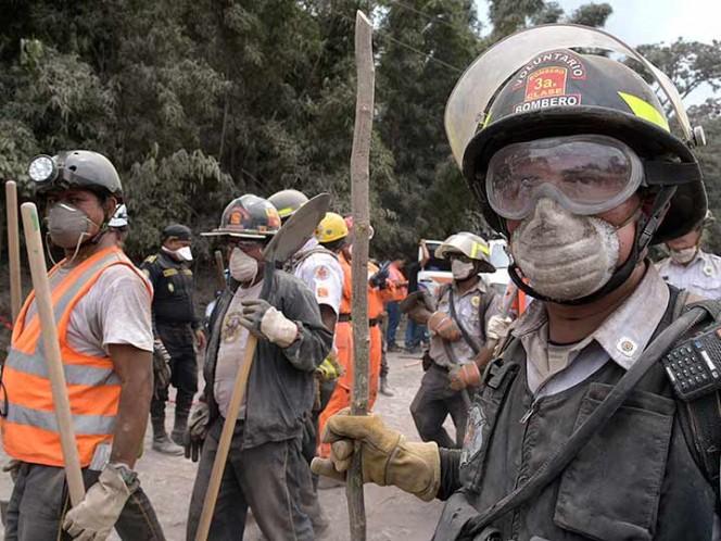 El Volcán de Fuego sigue sin dar tregua a Guatemala — FOTOGALERÍA
