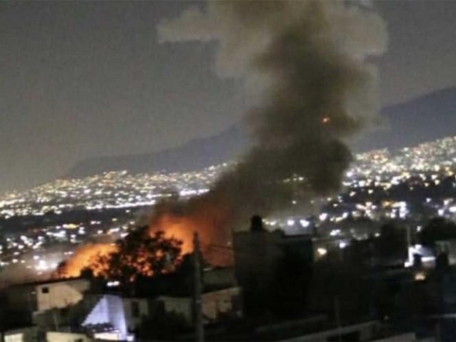 Explosión en Tultepec; deja 7 muertos