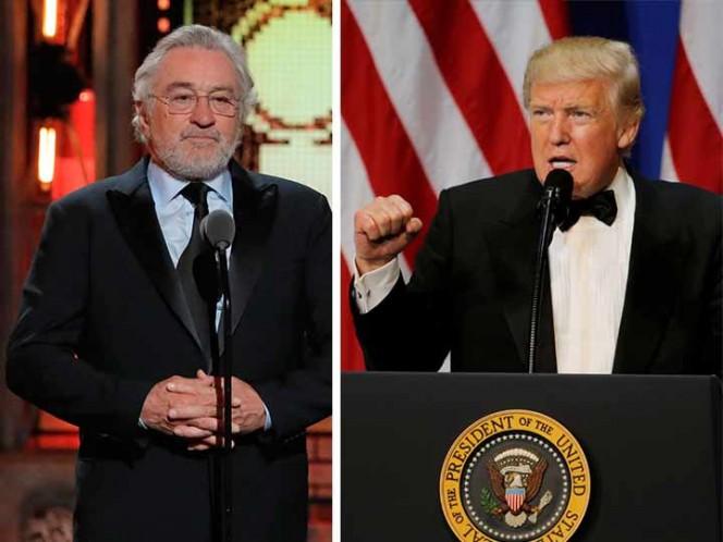 Así respondió Trump a insulto de Robert De Niro