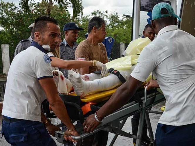 Superviviente de avionazo en Cuba pasa de estado 'crítico' a 'muy grave'
