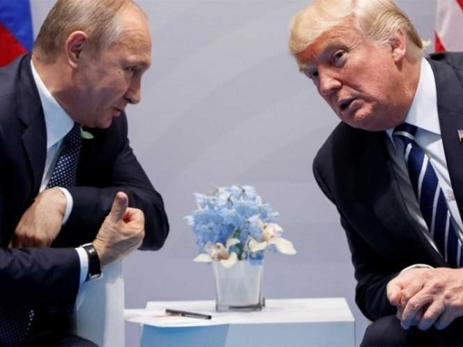 Trump apunta a probable reunión con Putin durante viaje a Europa