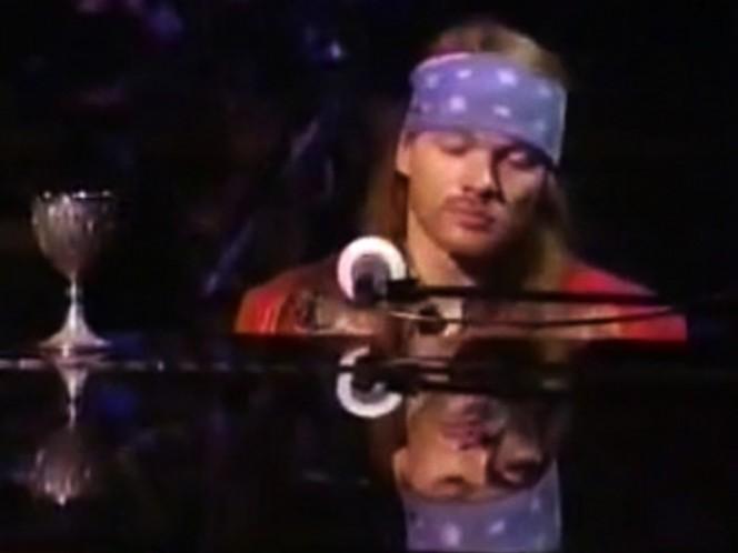 Guns N' Roses publicó la versión en piano de