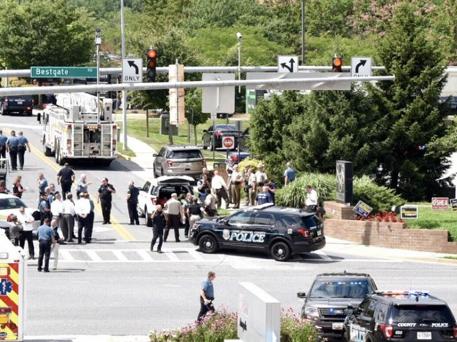 Se registra tiroteo en periódico de Maryland reportan varios muertos