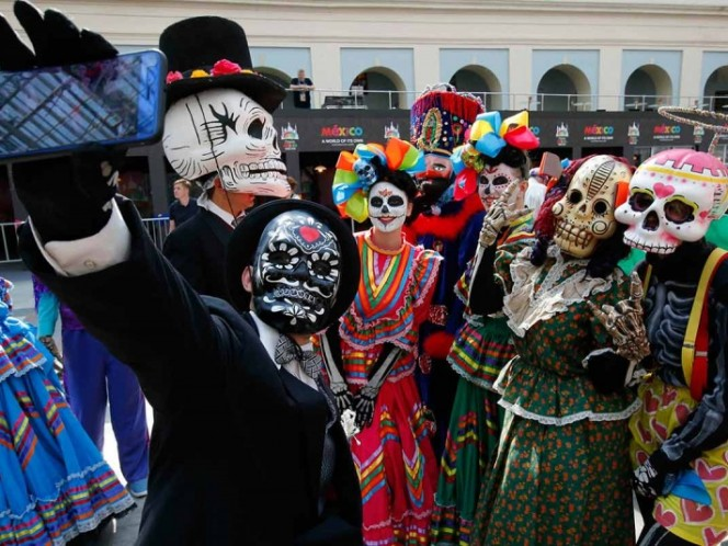 El Día de Muertos llega a Mundial de Rusia