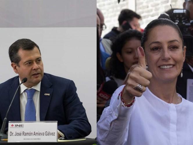 El jueves se reunirán Claudia Sheinbaum y José Ramón Amieva