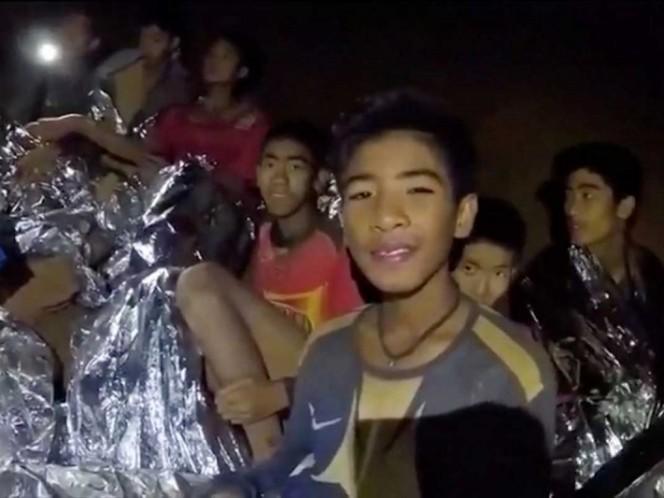 Niños atrapados en cueva de Tailandia: