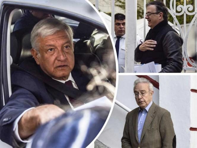 López Obrador propone a Ebrard como secretario de Relaciones Exteriores