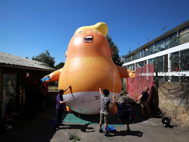 Trump mantendrá reunión con Theresa May e Isabel II en Reino Unido
