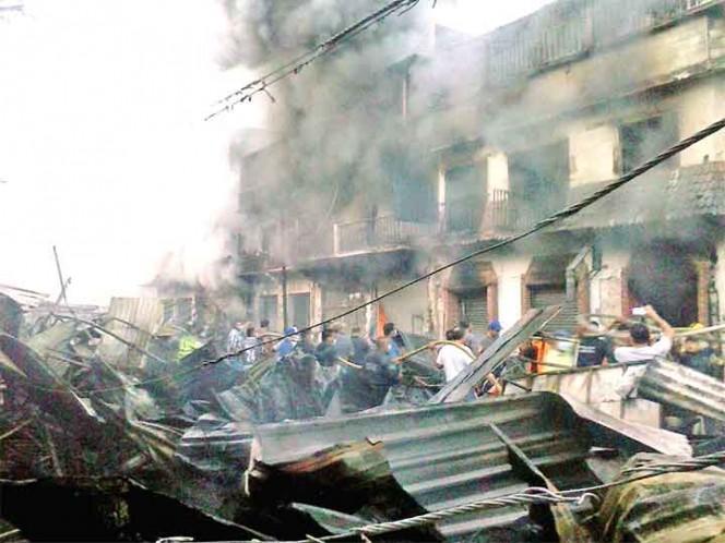 Incendio acaba con Mercado en Tamazunchale, SLP. - Estados - Notas