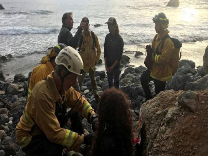 EEUU: cayó por un cantalido y ls rescataron una semana después