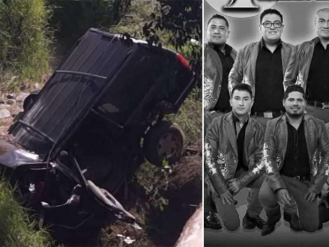 Fallecen seis músicos de la banda La Trilladora en accidente