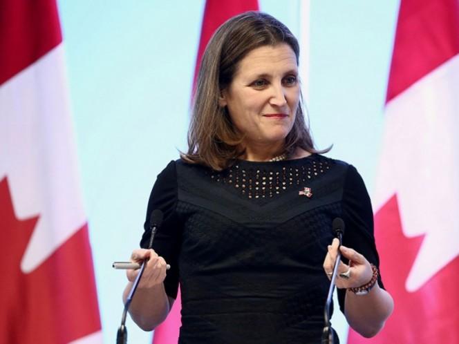 AMLO y Peña Nieto recibirán a la Ministra de Canadá