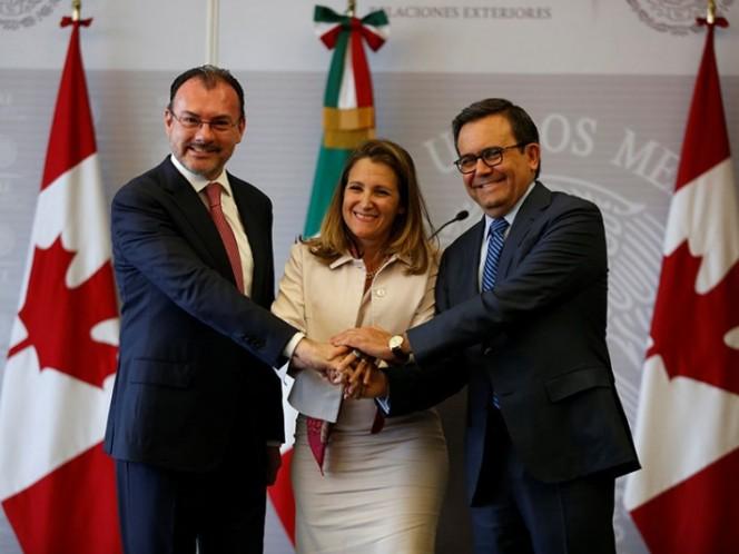 México y Canadá defienden TLCAN trilateral