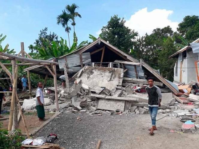 Sismo de magnitud 6,4 deja al menos 14 muertos en Lombok, Indonesia
