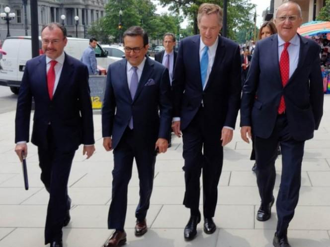 México y EU retoman pláticas por TLCAN; se desconoce si participará Canadá