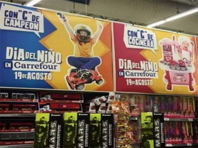 Carrefour sexist ads cause indignation