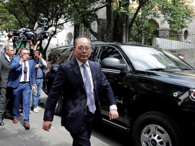 Embajador invita a equipo de AMLO a China