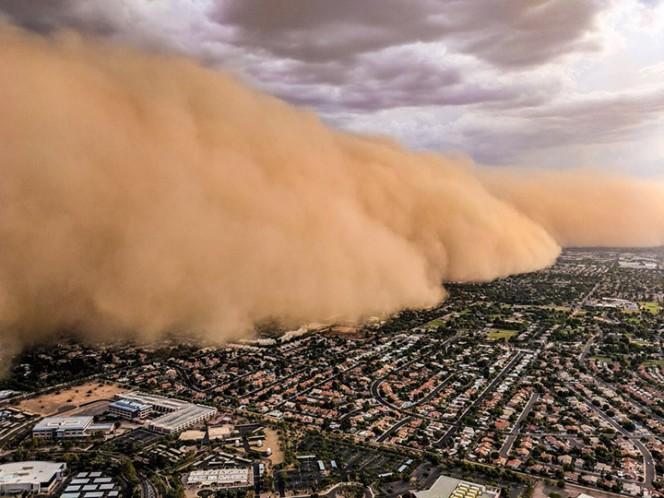 INCREÍBLE Tormenta de arena azota Phoenix, Arizona