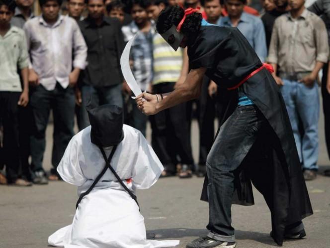Arabia Saudita crucifica a hombre condenado por violación y asesinato