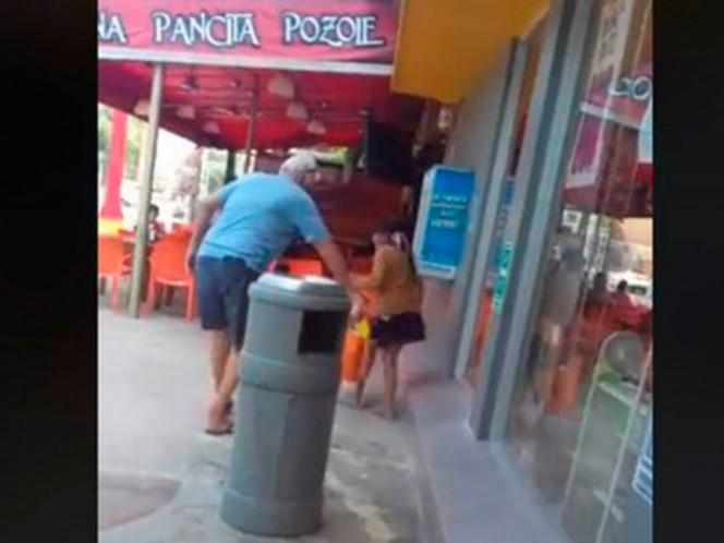Turista rocía ácido para correr a niña indígena en Cancún