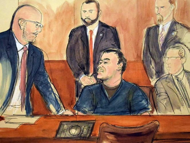 Juicio de El Chapo seguirá en Brooklyn