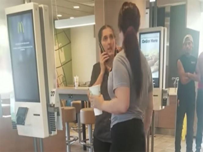 Bestial pelea entre una clienta y una empleada en un McDonalds