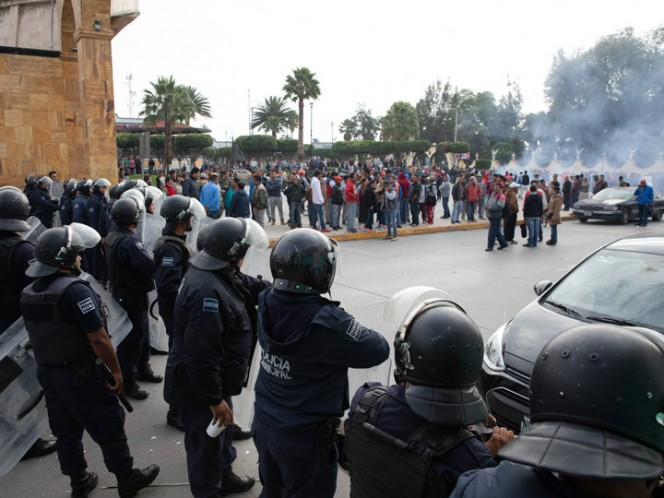 The situation is tense in the municipality. Photo: Cuartoscuro