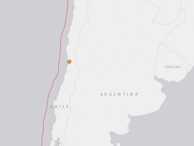 ÚLTIMA HORA: Sismo en Chile. Reportan terremoto en Chile de 4.8