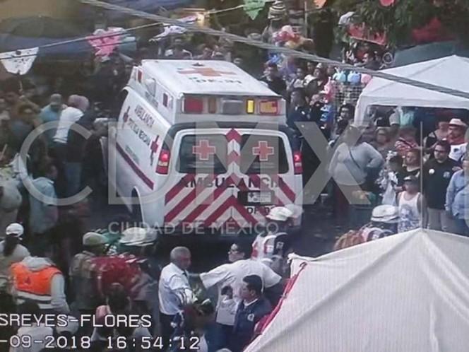 Explosión de pirotecnia deja cuatro lesionados en Coyoacán