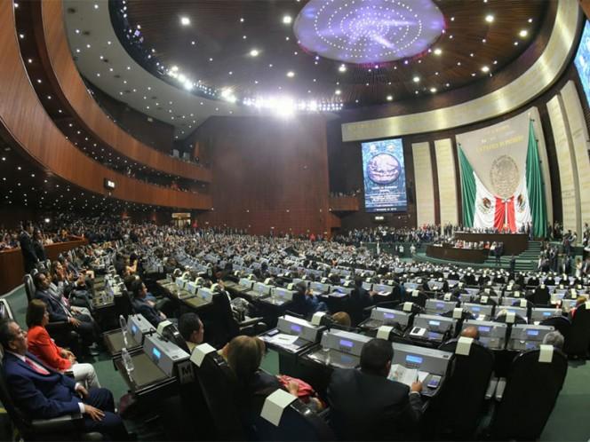 La primera iniciativa de Morena en la Cámara de Diputados es una reforma constitucional para eliminar el fuero de los funcionarios y el presidente – Foto: Twitter @Mx_Diputados
