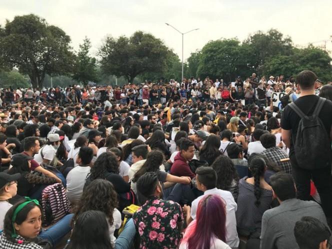 Alrededor de 30 mil estudiantes participaron en marcha de CU