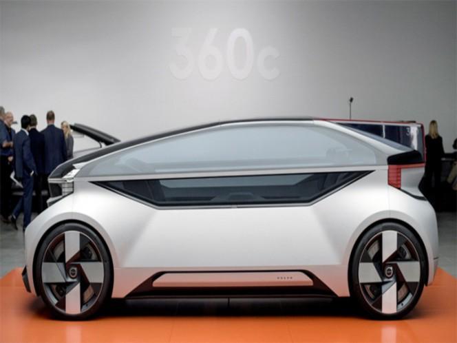 """Volvo 360c, un coche autónomo dispuesto a cambiar el concepto de viajar"""""""
