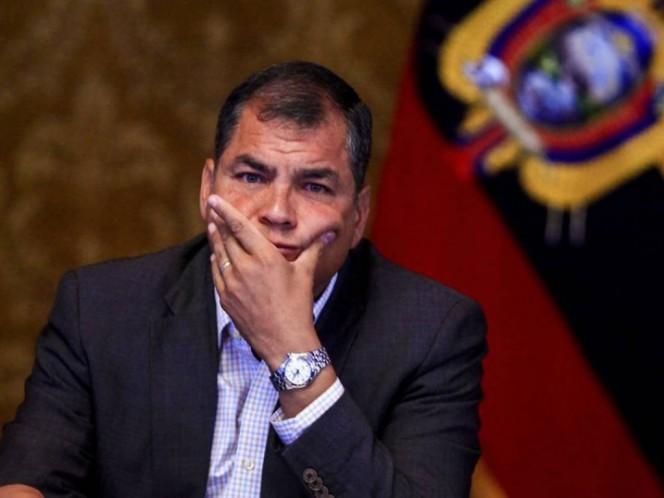 Indagación por delincuencia organizada contra Rafael Correa