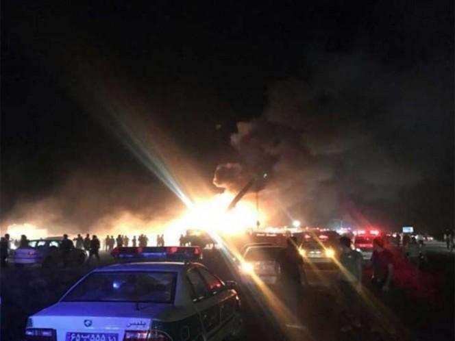 Accidente de autobús en Irán deja 21 muertos
